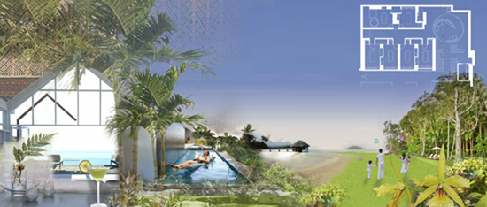 Sanya ClubMED 三亚地中海俱乐部总体规划设计