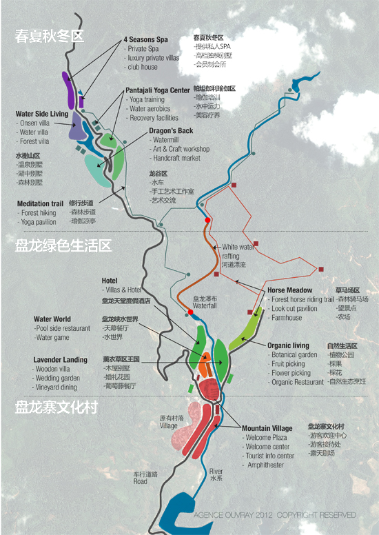 Panlongxia Masterplanning 盘龙峡总体规划设计