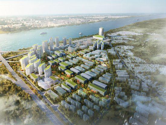 Cangshan Urban redevelopment 沧桑城市改造
