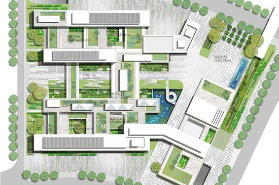 HITSZ CAMPUS 哈尔滨工业大学深圳校区景观设计