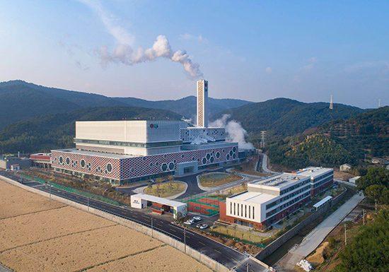 Ningbo Waste Treatment Plant 宁波鄞州环保焚化厂