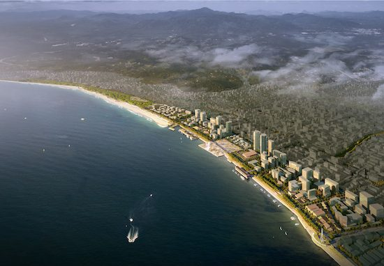Shanwei Coastal Redevelopment 汕尾海岸线规划