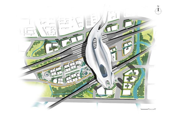 Songjiang Urban Redevelopment 松江城市改造